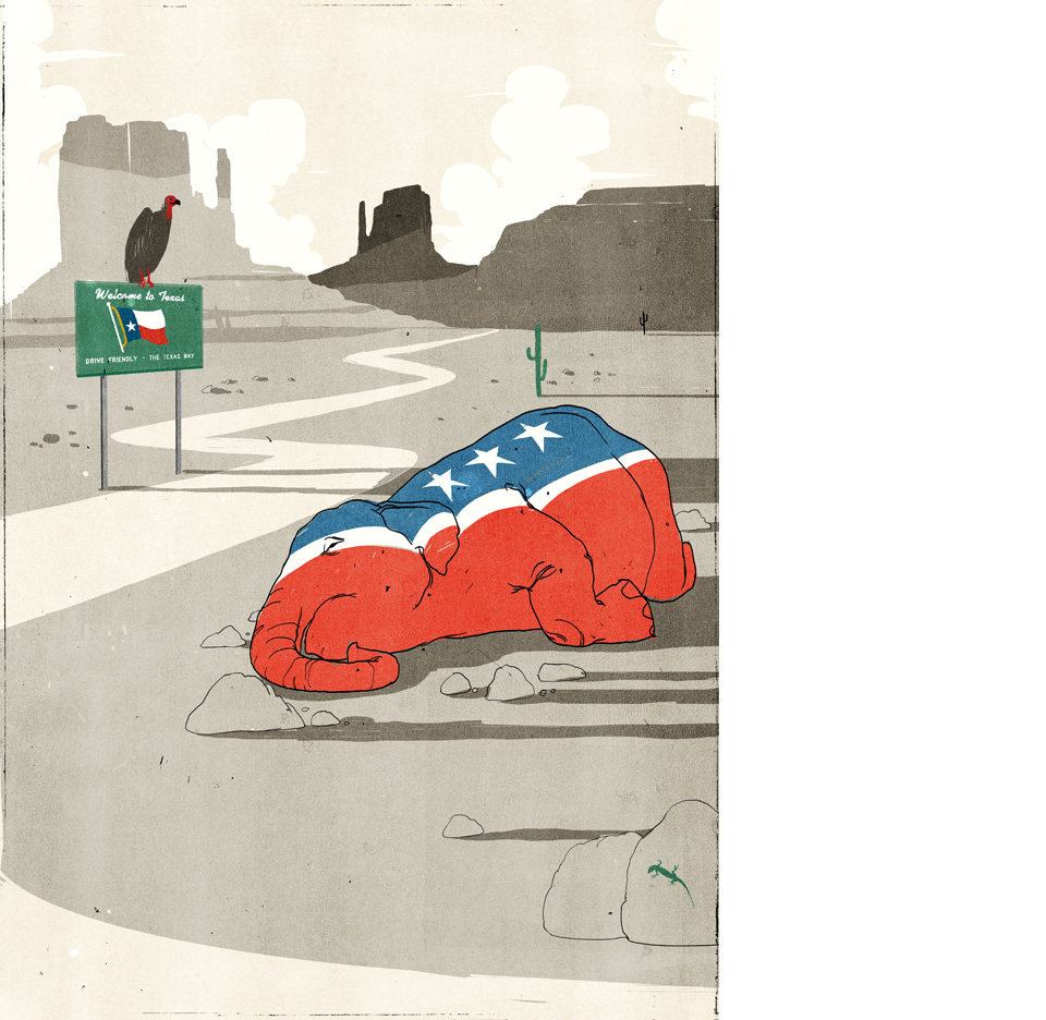 Texas and the GOP